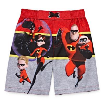 Incredibles Swim Trunks - Toddler Boys