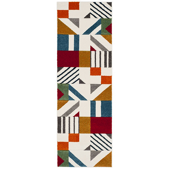 Safavieh Hollywood Collection Kyler Abstract Runner Rug