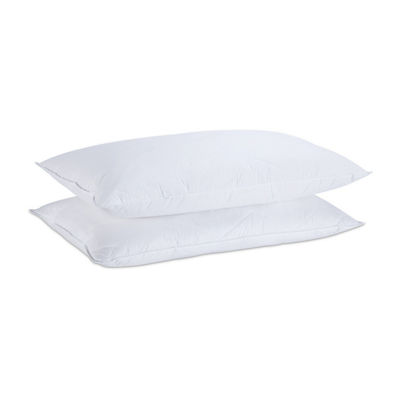 Mini Feather Pillow Set of 2 Medium Firmness