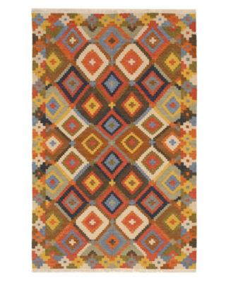 Handmade Wool Traditional Geometric Kilim Rug