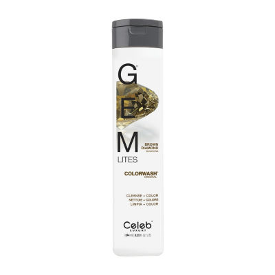 Celeb Luxury Gem Lites Brown Diamond Shampoo - 8.25 oz.