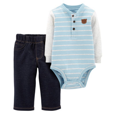 Carter's 2pc Bodysuit  Pant Set-Baby Boy