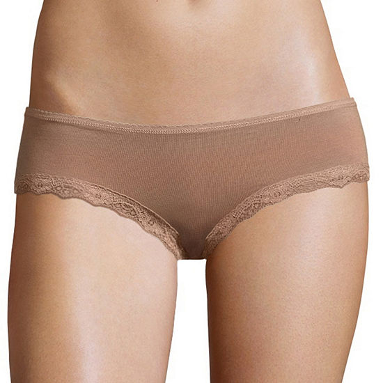 City Streets Lace Trim Hipster Hipster Panty