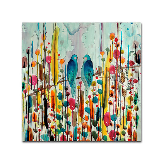 Trademark Fine Art Sylvie Demers We Giclee Canvasart