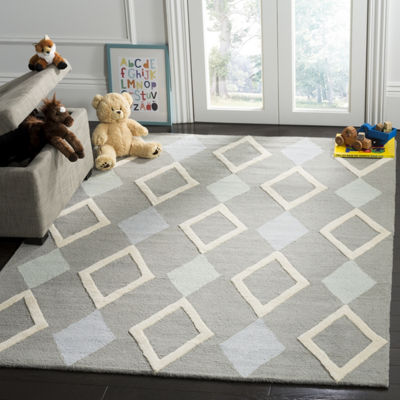 Safavieh Kids Collection Naples Geometric Area Rug