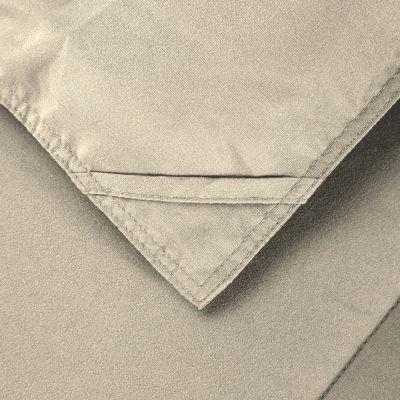 Never Down All Season Microfiber Down Alternative Comforter