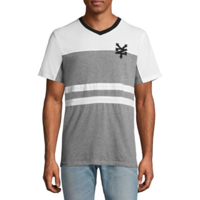 Zoo York Mens Short Sleeve Henley Shirt