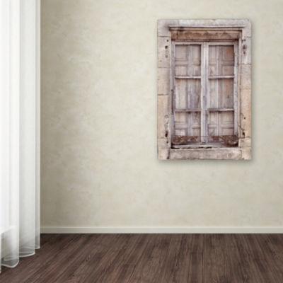 Trademark Fine Art Cora Niele French Window I Giclee Canvas Art