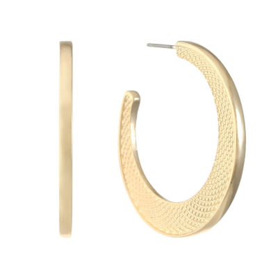 Liz Claiborne 38mm Hoop Earrings