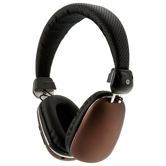iLive Platinum IAHP46BZ Bluetooth Wireless Aviator Style Headphones with In-Line Audio