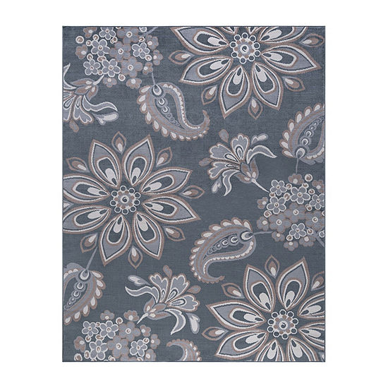 Tayse Matilda Transitional Floral Rug Collection