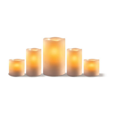 Apothecary Large 5-pc. Flameless Candle