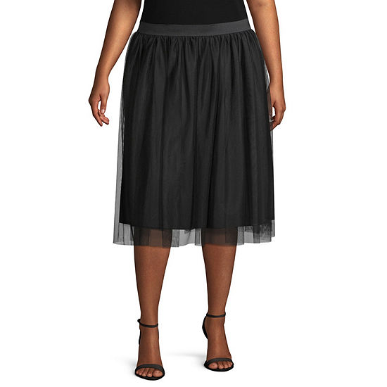 Worthington Tulle Skirt - Plus