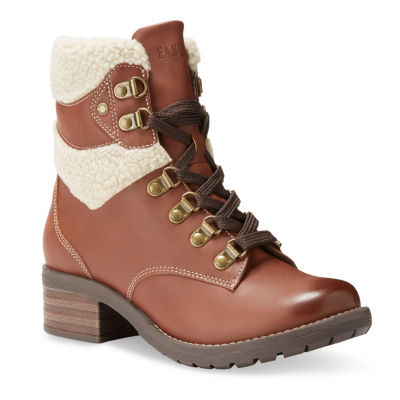Eastland Womens Frankie Lace Up Boots