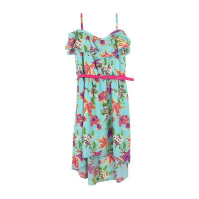 Lilt Sleeveless A-Line Dress Girls