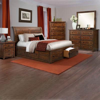 Aspen Creek Storage 5-Piece Bedroom Set