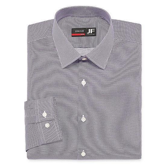 JF J.Ferrar Long Sleeve Dress Shirt - Slim