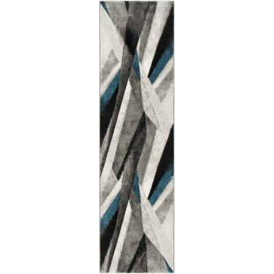 Safavieh Hollywood Collection Richard Abstract Runner Rug