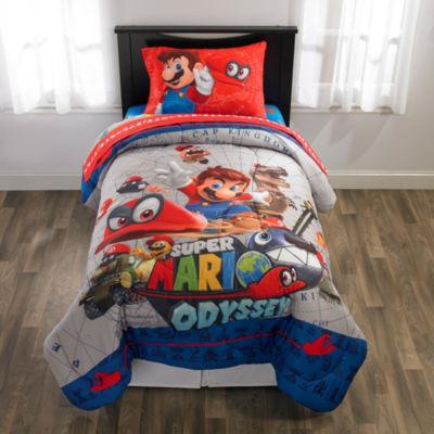 Nintendo Super Mario Reversible Comforter Set