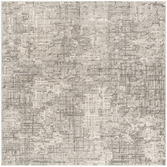 Safavieh Meadow Collection Samuel Abstract Square Area Rug