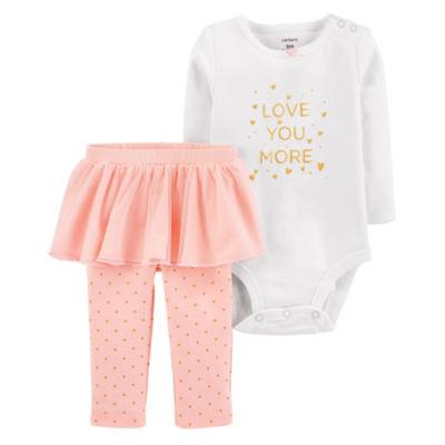 Carter's 2-pc. Bodysuit Set-Baby Girls