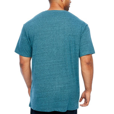 Zoo York Mens Crew Neck Short Sleeve T-Shirt-Big and Tall