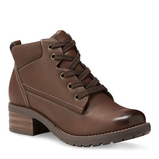 Eastland Womens Bandana Lace Up Boots