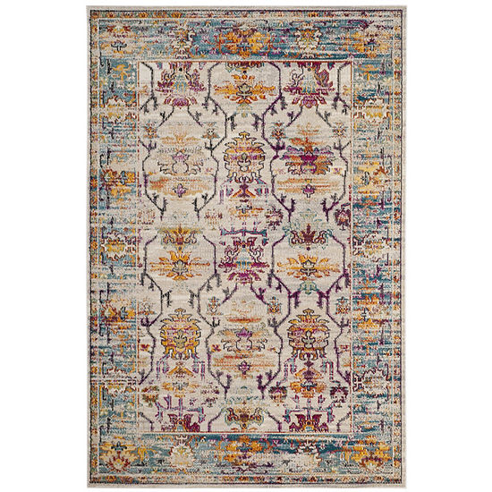 Safavieh Crystal Collection Abner Oriental Area Rug