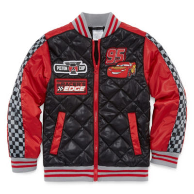 Disney Boys Cars Midweight Bomber Jacket-Toddler