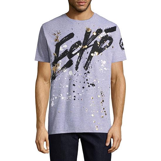 Ecko Unltd Mens Crew Neck Short Sleeve Logo Graphic T-Shirt