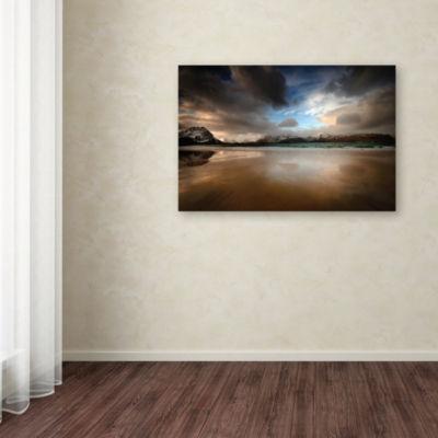 Trademark Fine Art Philippe Sainte-Laudy Ramberg Beach Giclee Canvas Art