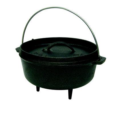 Stansport 2-Quart Cast Iron Camping Dutch Oven