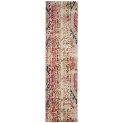 Safavieh Monaco Collection Cedric Abstract RunnerRug