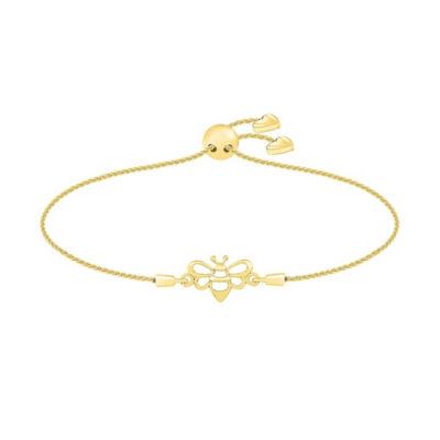 10K Gold Bolo Bracelet