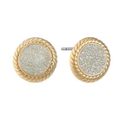 Monet Jewelry 17.5mm Stud Earrings