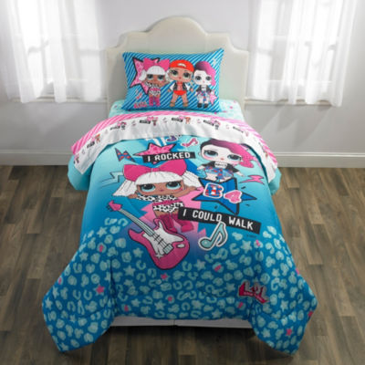 MGA L.O.L Surprise Reversible Comforter Set