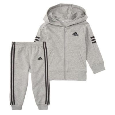 Adidas 2-Pc. Altitude Jacket Set - Baby Boys