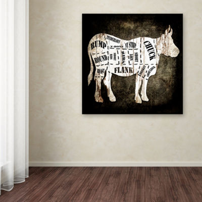 Trademark Fine Art LightBoxJournal Butcher Shop IIGiclee Canvas Art