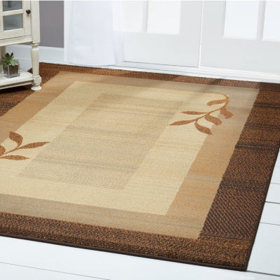 Home Dynamix Royalty Clover Border Rectangular Rug