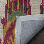 Safavieh Ikat Collection Euclid Geometric Runner Rug