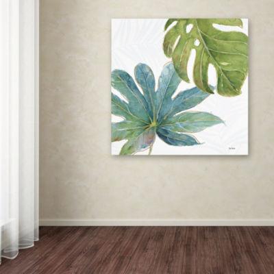 Trademark Fine Art Lisa Audit Tropical Blush VII Giclee Canvas Art