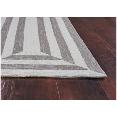 Hampton Emerson By Libby Langdon Hooked Round Rug