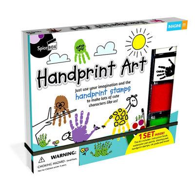 Spicebox Imagine It! Handprint Art Kit
