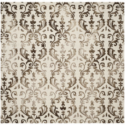 Safavieh Dip Dye Collection Mihail Floral Square Area Rug