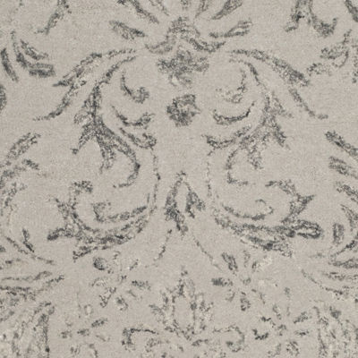 Safavieh Glamour Collection Aaron Damask Runner Rug