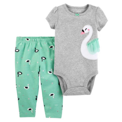 Carter's 2-pack Bodysuit Set-Baby Girls
