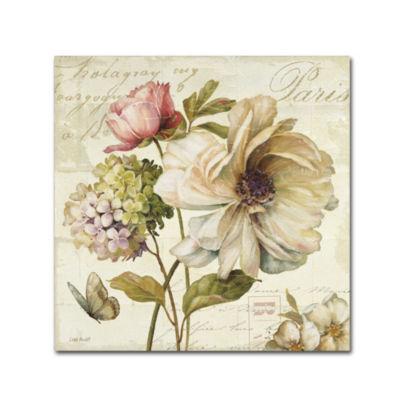 Trademark Fine Art Lisa Audit Marche de Fleurs IIGiclee Canvas Art
