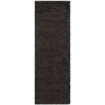 Safavieh Reno Shag Collection Nancy Solid Runner Rug