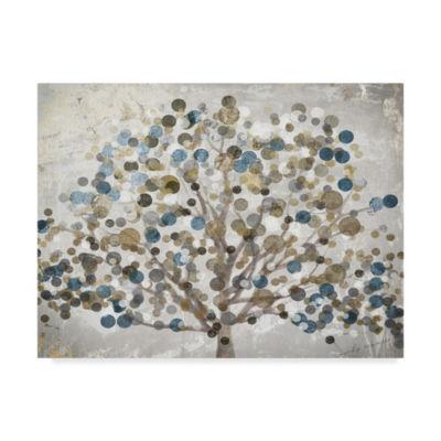 Trademark Fine Art Color Bakery Bubble Tree GicleeCanvas Art