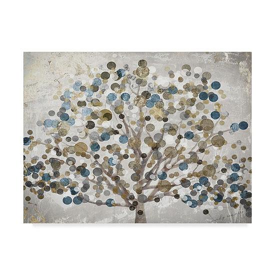 Trademark Fine Art Color Bakery Bubble Tree Giclee Canvas Art